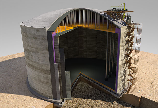 Composite Concrete Cryogenic Walls Preload International